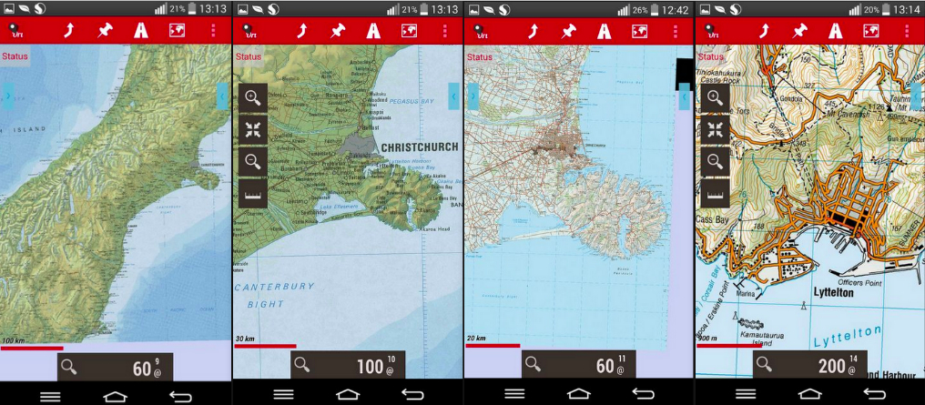 Best Free Offline Topographical Android App Orux Maps World
